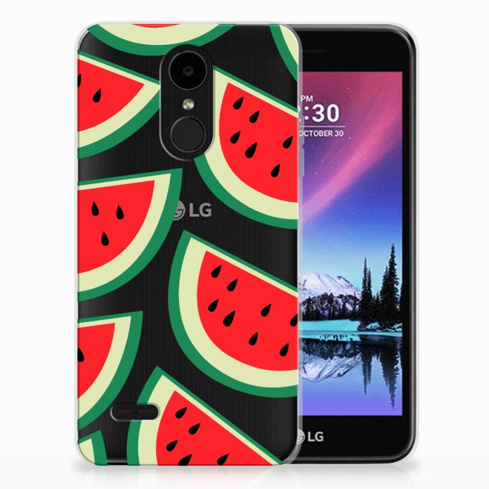 LG K4 (2017) Siliconen Case Watermelons