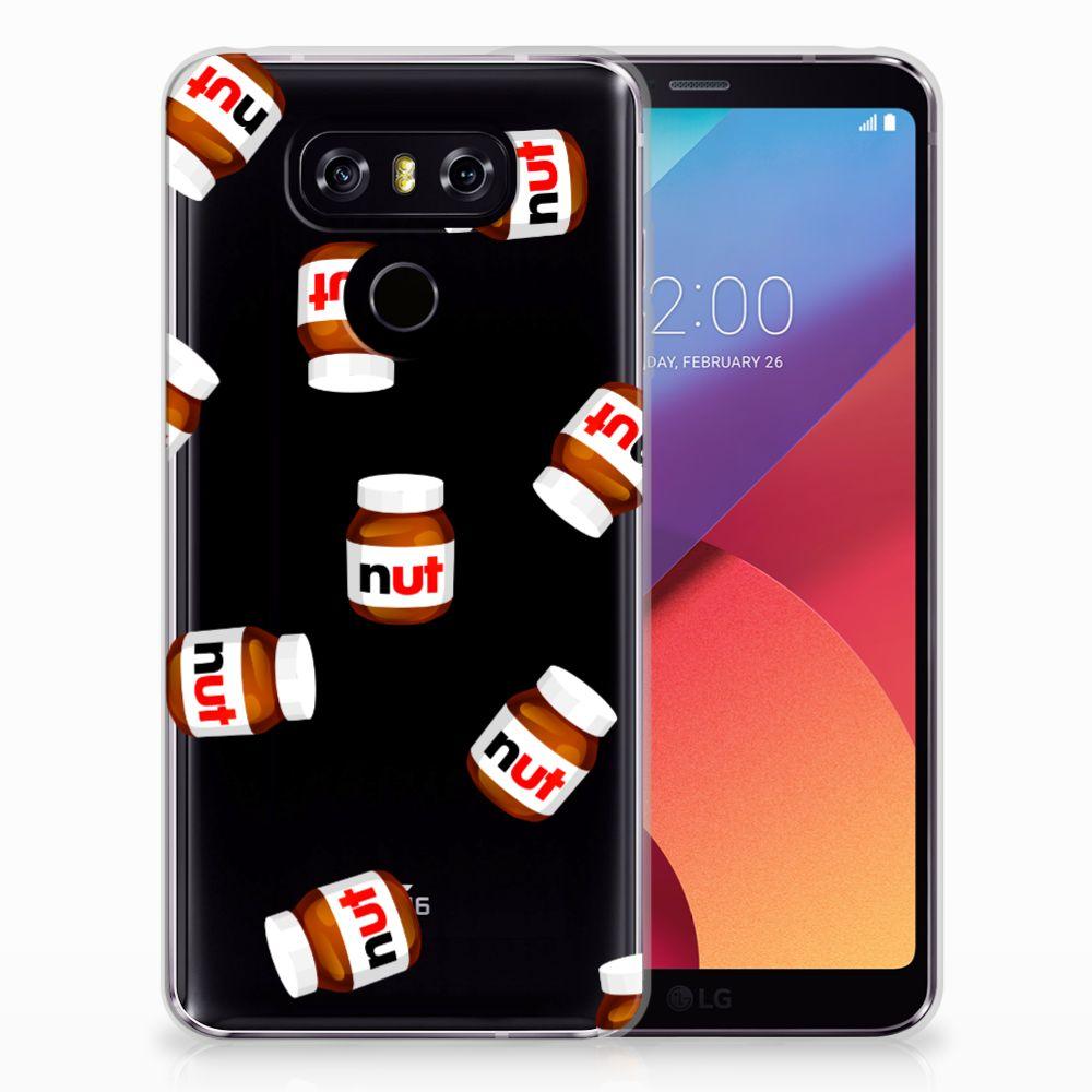 LG G6 Siliconen Case Nut Jar