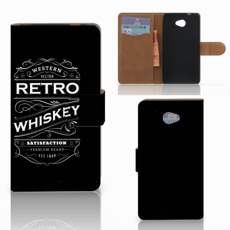 HTC Desire 601 Book Cover Whiskey