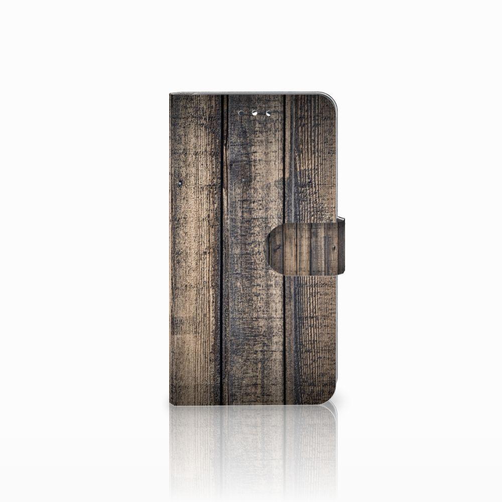 Huawei Y7 2017 | Y7 Prime 2017 Boekhoesje Design Steigerhout