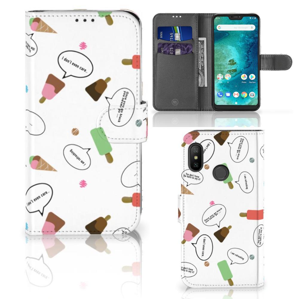 Xiaomi Mi A2 Lite Book Cover IJsjes