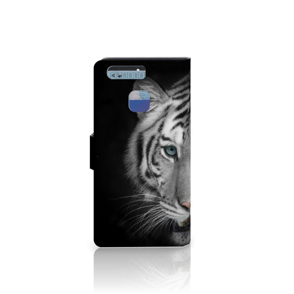 Huawei P9 Telefoonhoesje met Pasjes Tijger