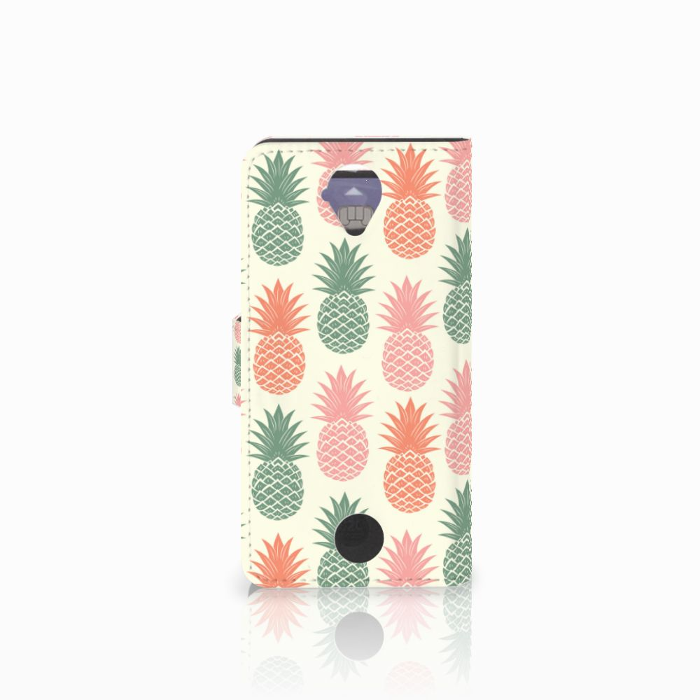 Acer Liquid Z330 Book Cover Ananas