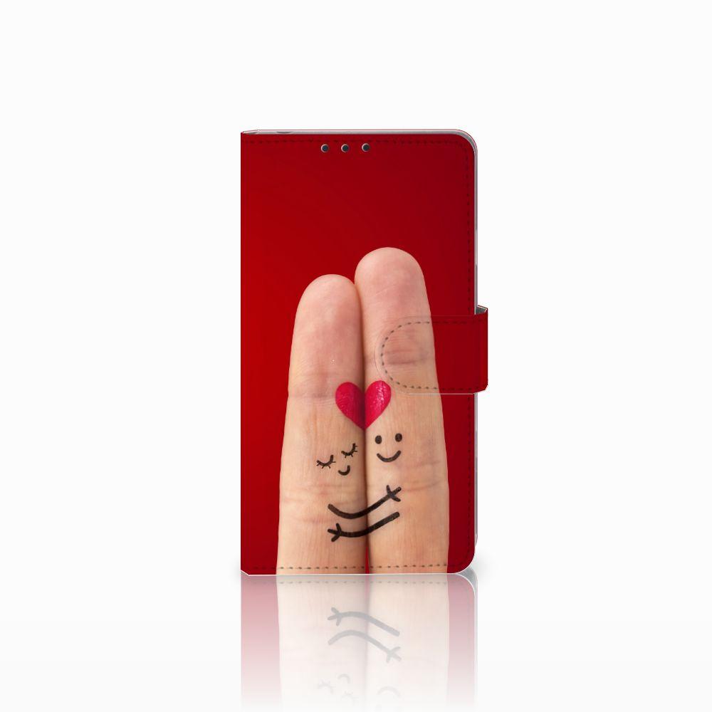 Sony Xperia Z1 Uniek Boekhoesje Liefde