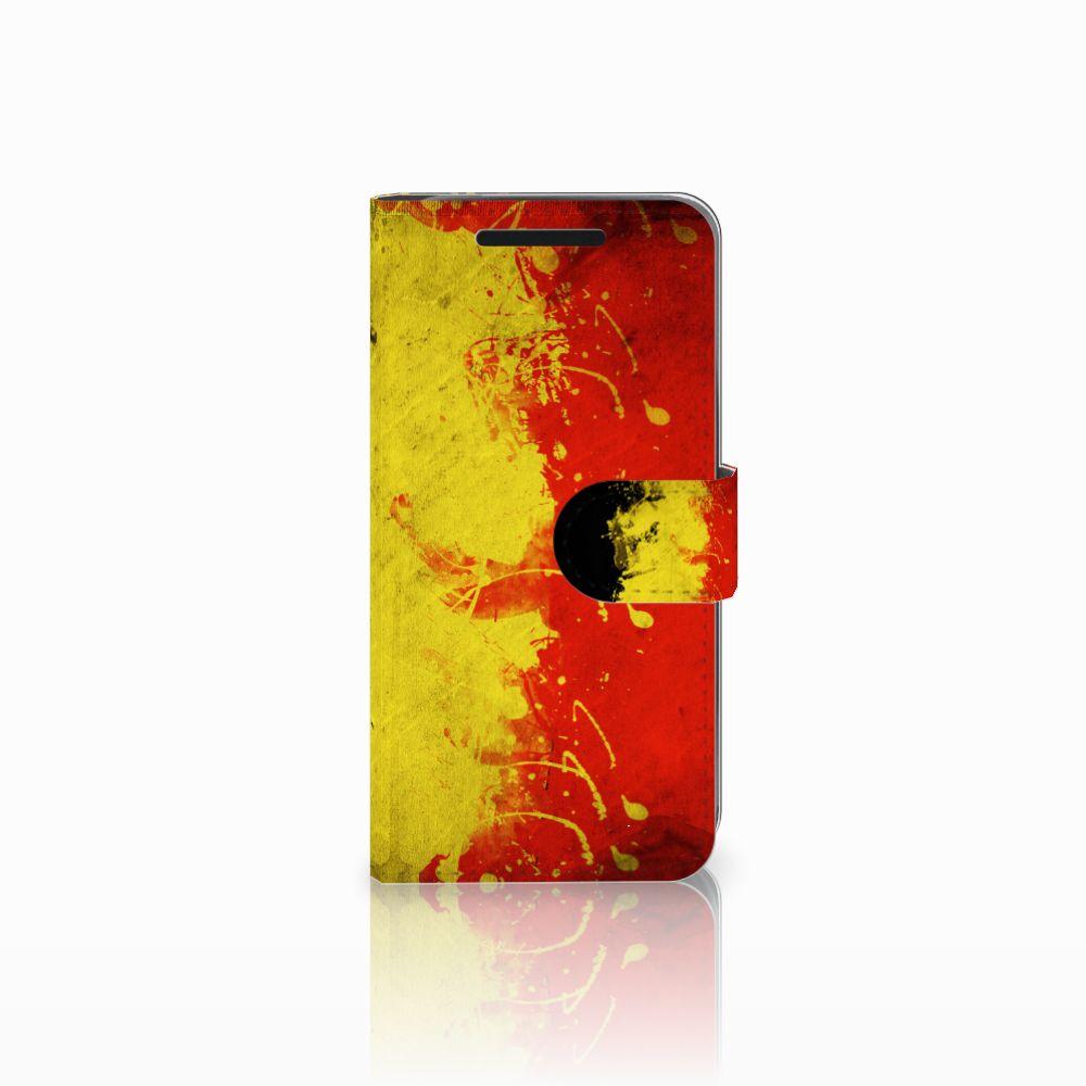 HTC One M9 Boekhoesje Design Belgische Vlag