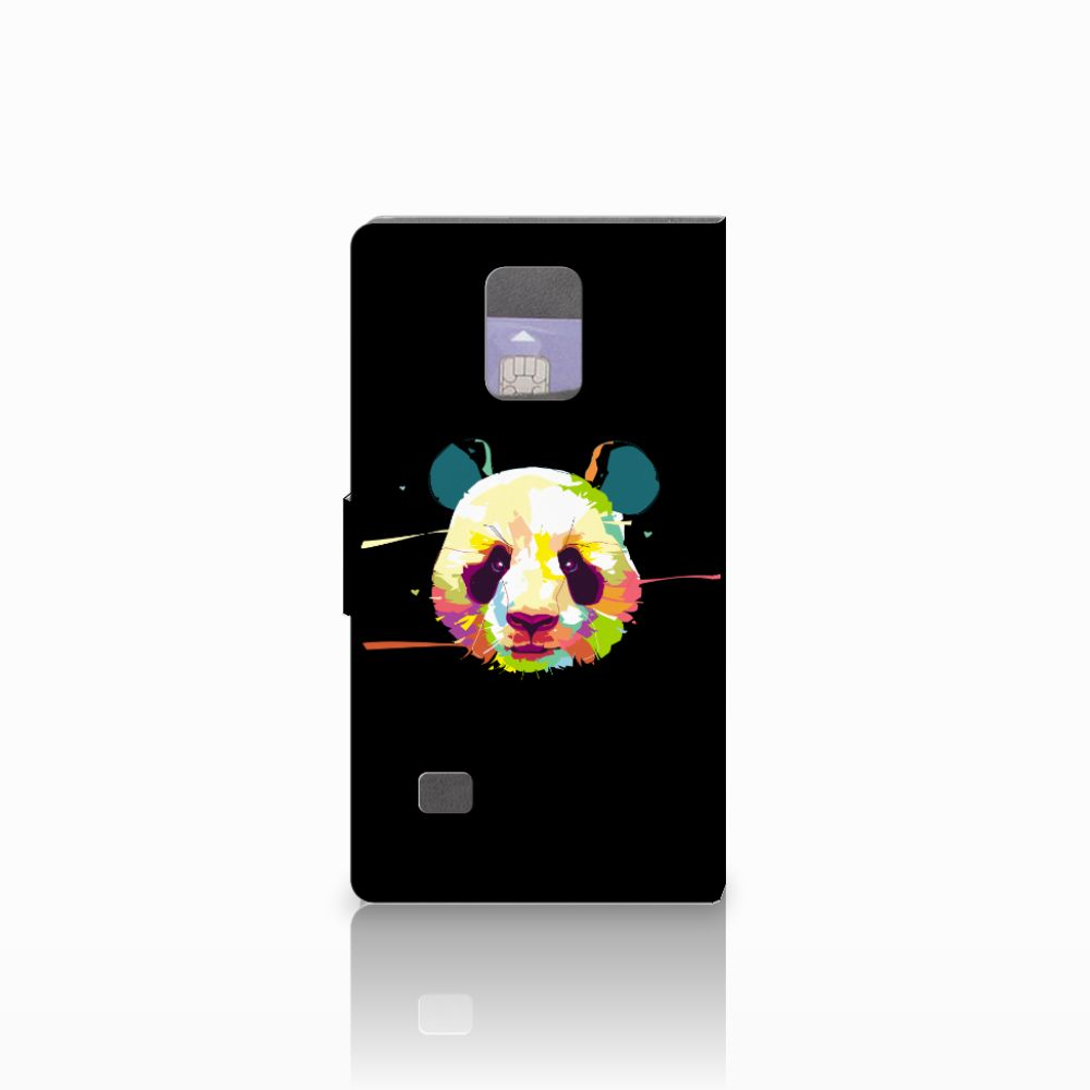 Samsung Galaxy Note 4 Leuke Hoesje Panda Color
