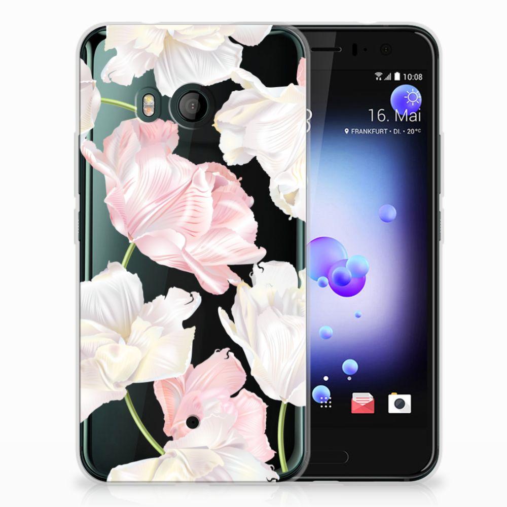 HTC U11 TPU Hoesje Design Lovely Flowers