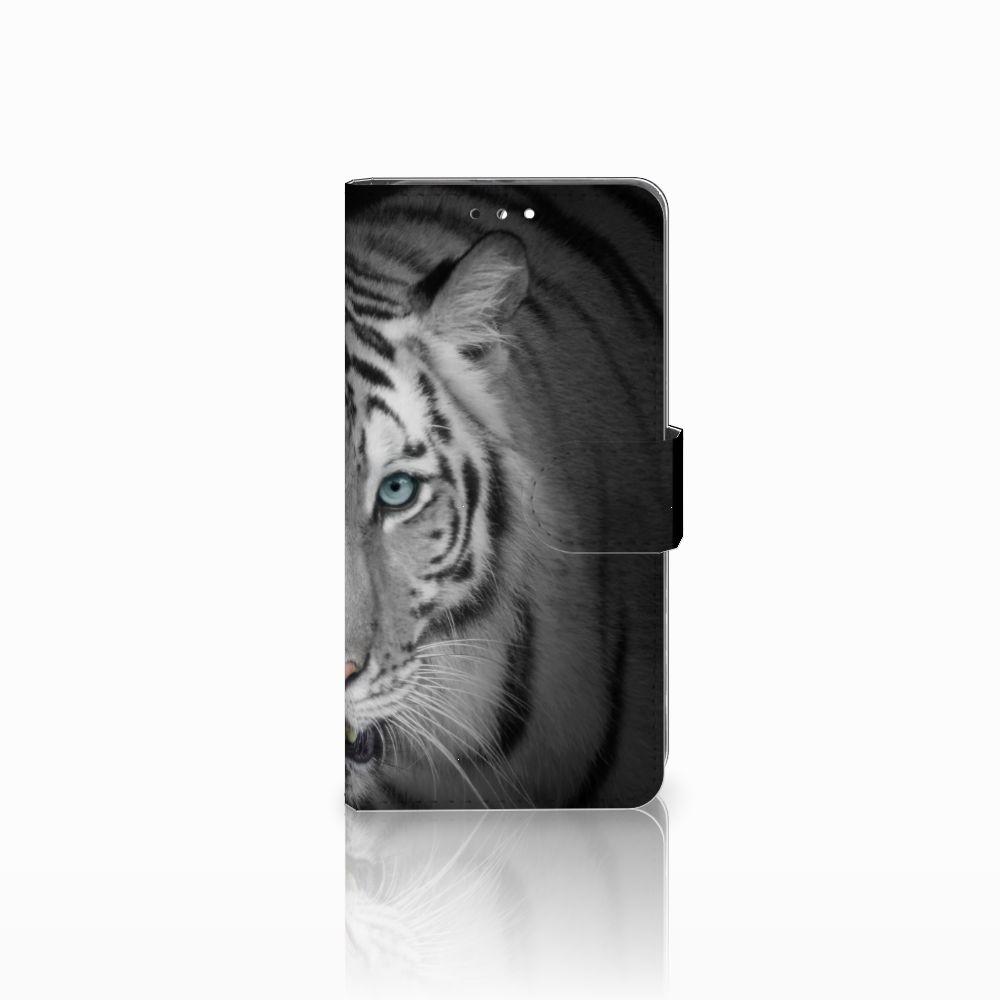 Huawei Honor 9 Uniek Boekhoesje Tijger