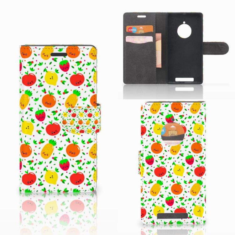 Nokia Lumia 830 Book Cover Fruits