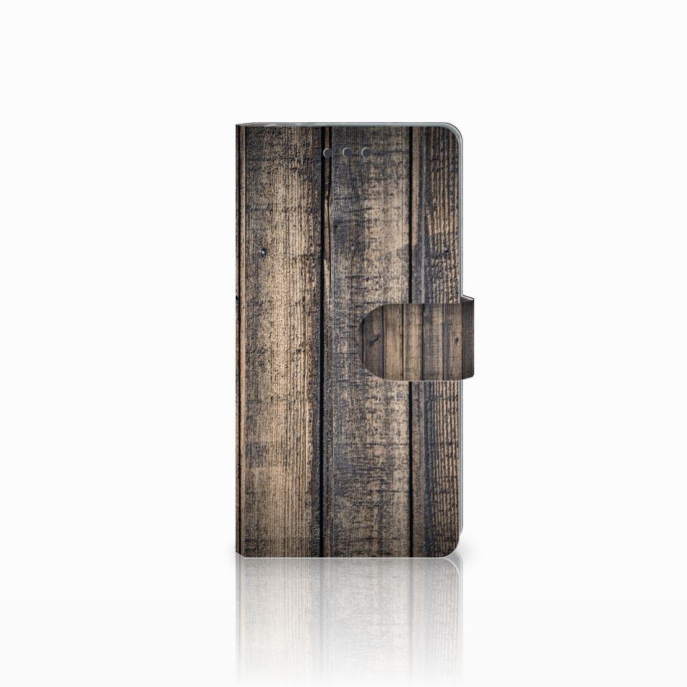Sony Xperia E5 Boekhoesje Design Steigerhout