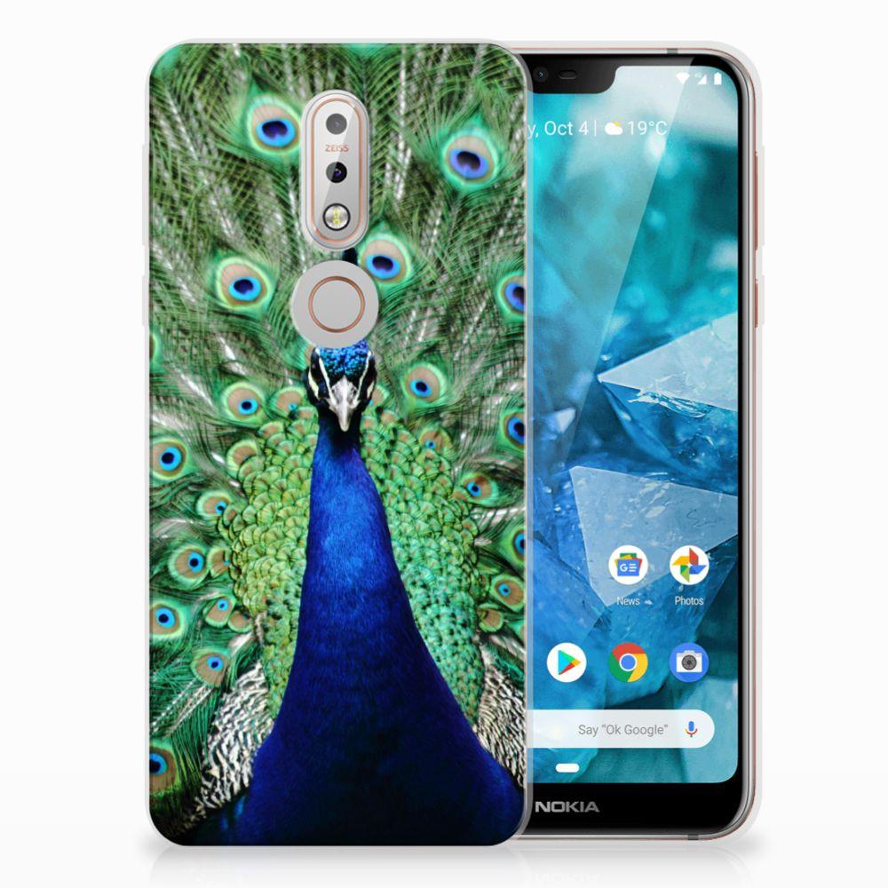 Nokia 7.1 TPU Hoesje Design Pauw