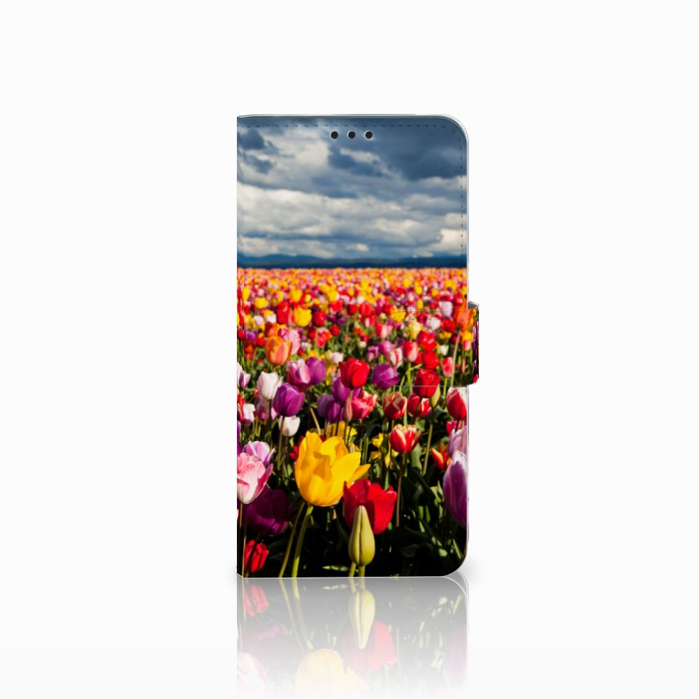 Huawei P Smart Plus Uniek Boekhoesje Tulpen
