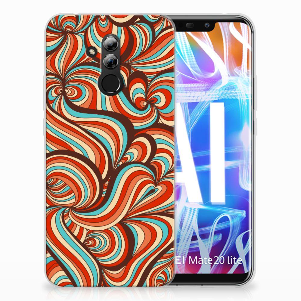 Huawei Mate 20 Lite TPU Hoesje Design Retro