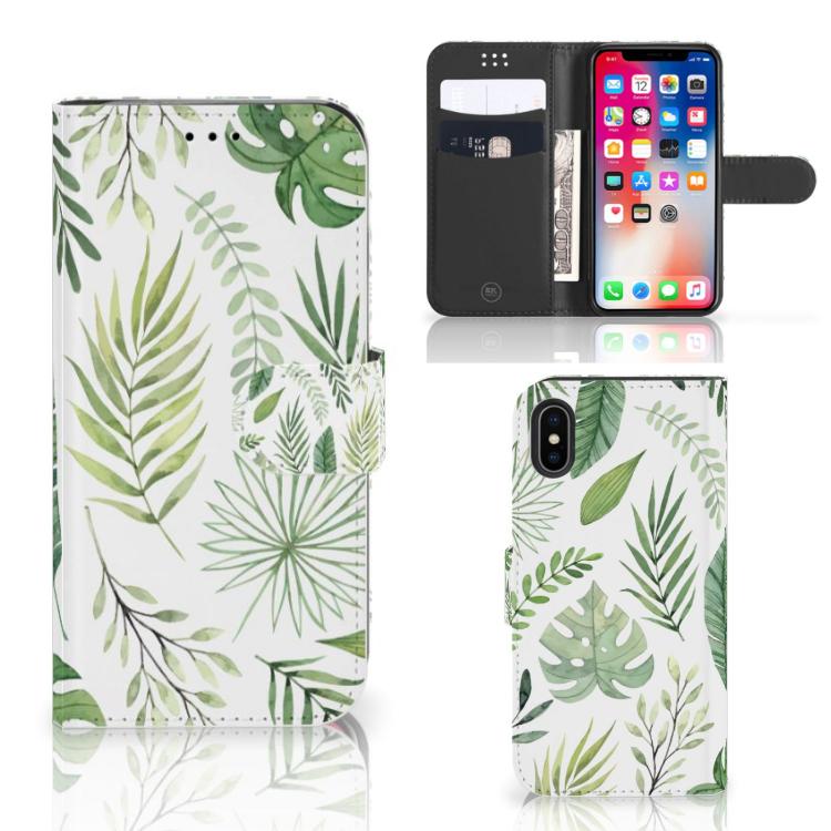 Apple iPhone X | Xs Hoesje Leaves