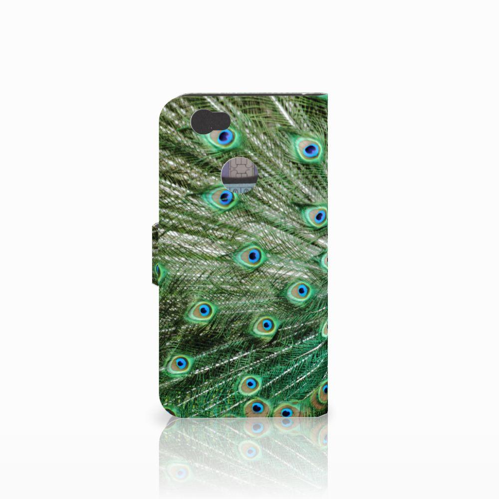 Huawei Nova Telefoonhoesje met Pasjes Pauw