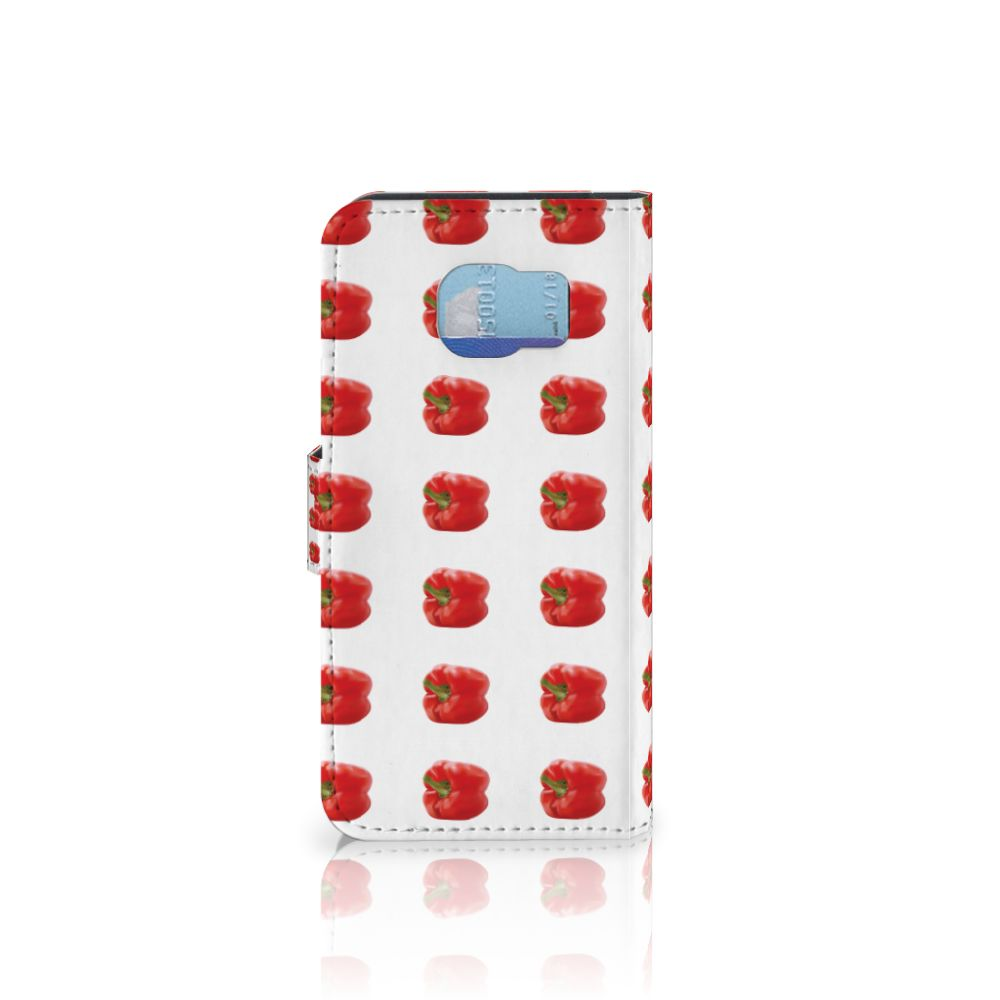 Samsung Galaxy S6 | S6 Duos Book Cover Paprika Red