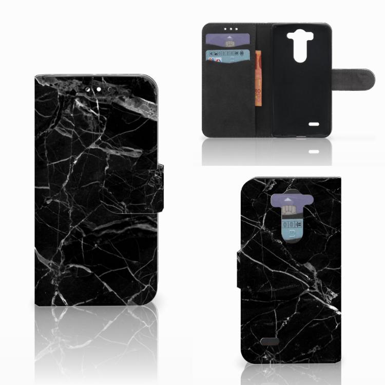 LG G3 S Bookcase Marmer Zwart