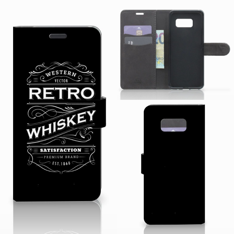 Samsung Galaxy S8 Plus Book Cover Whiskey