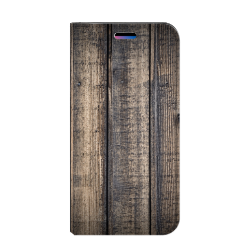 Apple iPhone X | Xs Standcase Hoesje Design Steigerhout