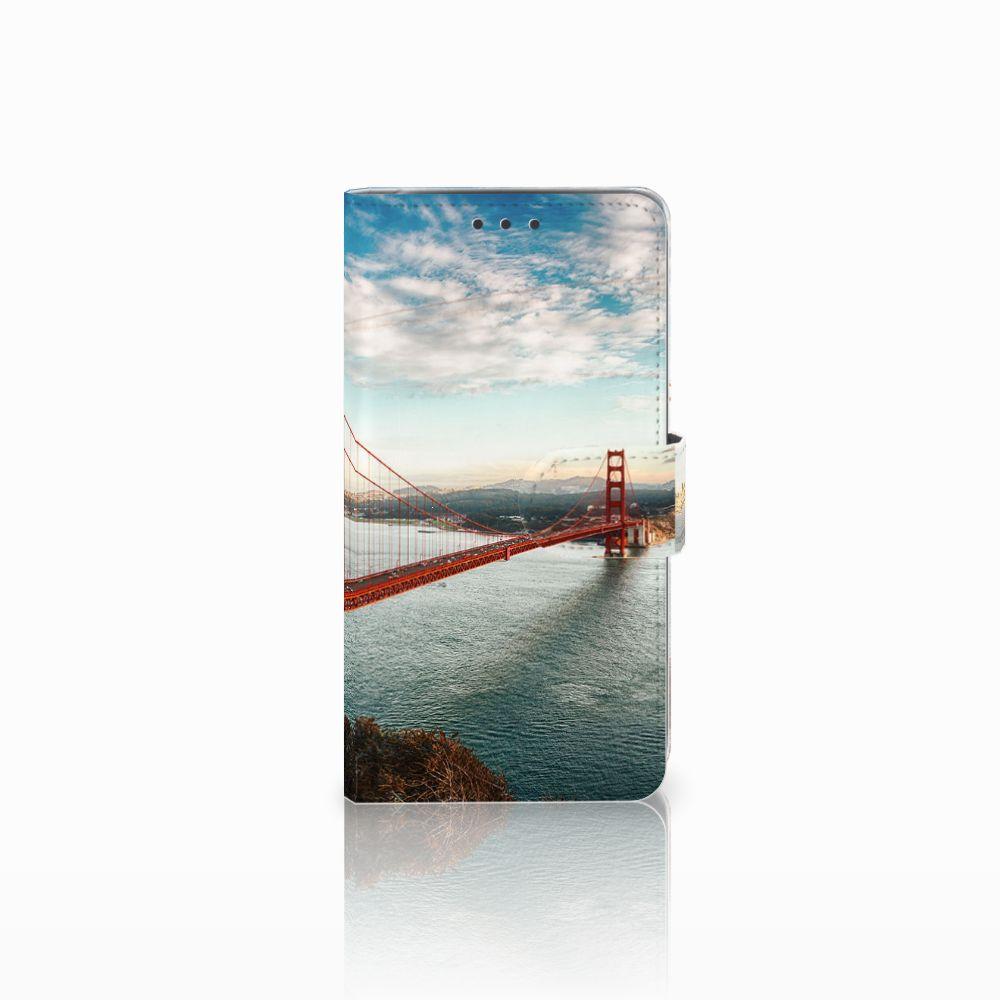 LG Q6 | LG Q6 Plus Boekhoesje Design Golden Gate Bridge