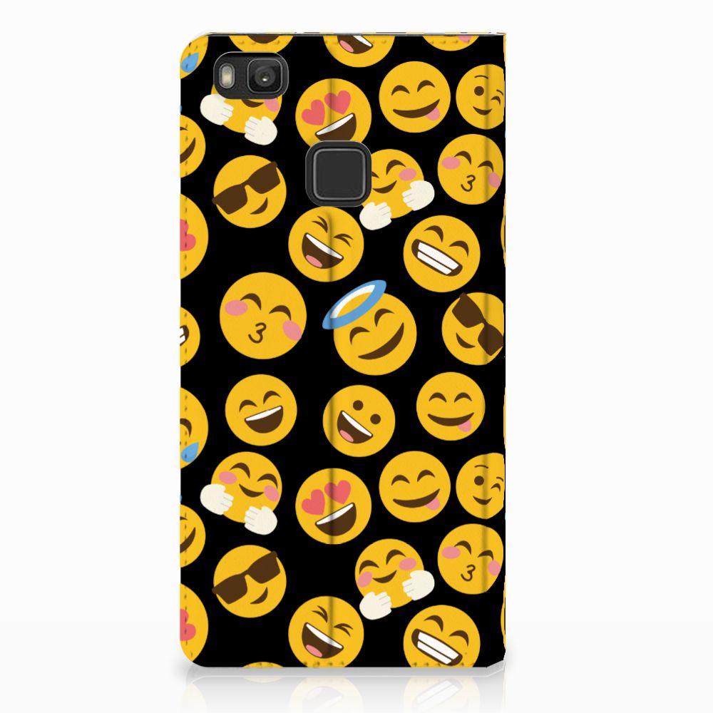 Huawei P9 Lite Standcase Hoesje Design Emoji