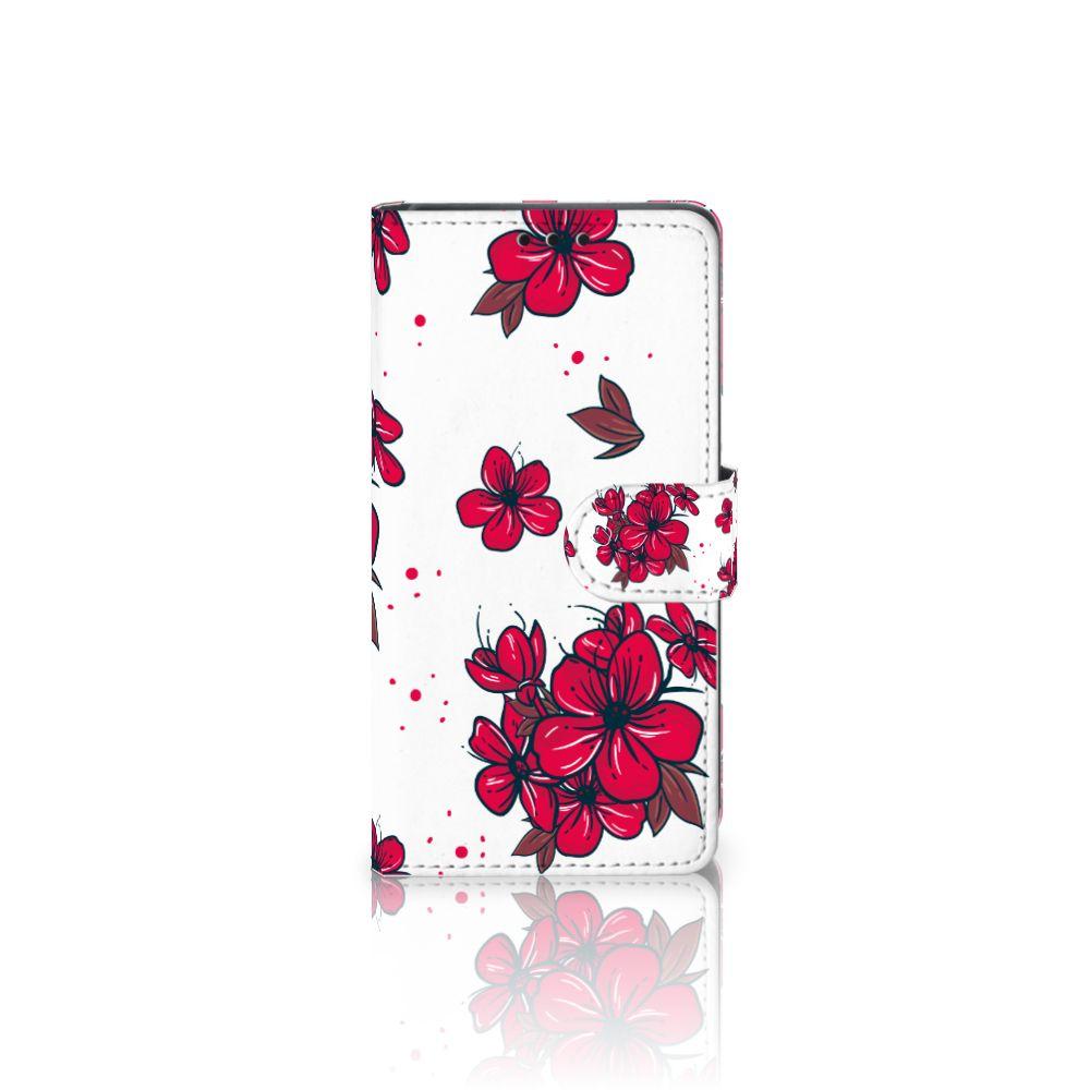 Sony Xperia Z5 | Z5 Dual Boekhoesje Design Blossom Red