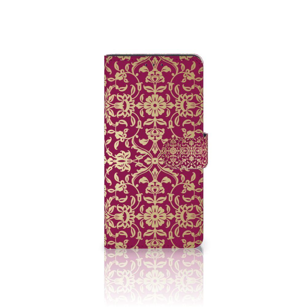 Motorola Moto Z Play Boekhoesje Design Barok Pink