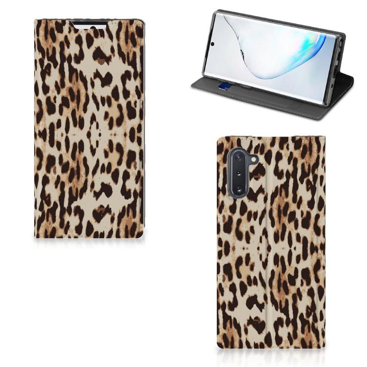 Samsung Galaxy Note 10 Hoesje maken Leopard