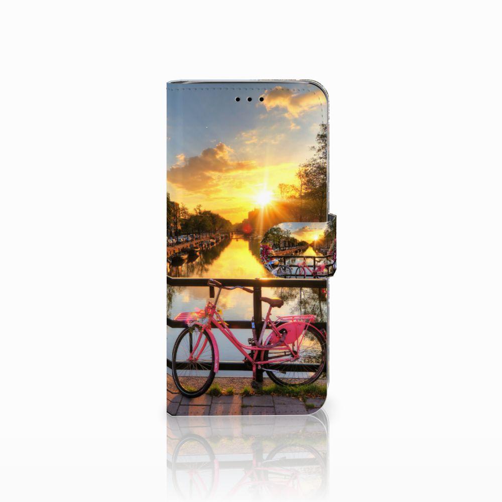 Samsung Galaxy A6 2018 Uniek Boekhoesje Amsterdamse Grachten