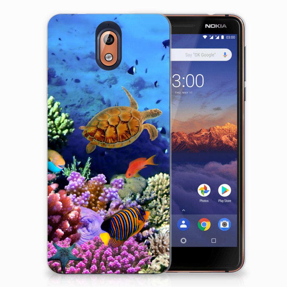 Nokia 3.1 (2018) TPU Hoesje Design Vissen