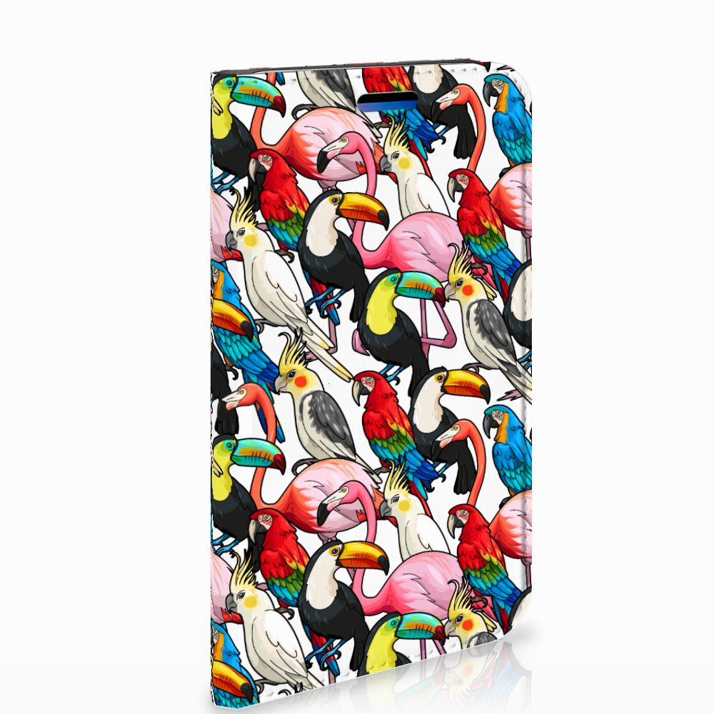 Apple iPhone X | Xs Uniek Standcase Hoesje Birds
