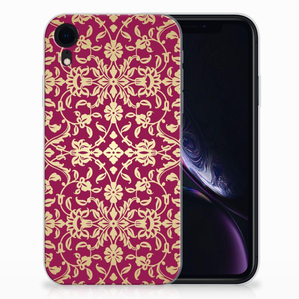 Siliconen Hoesje Apple iPhone Xr Barok Pink