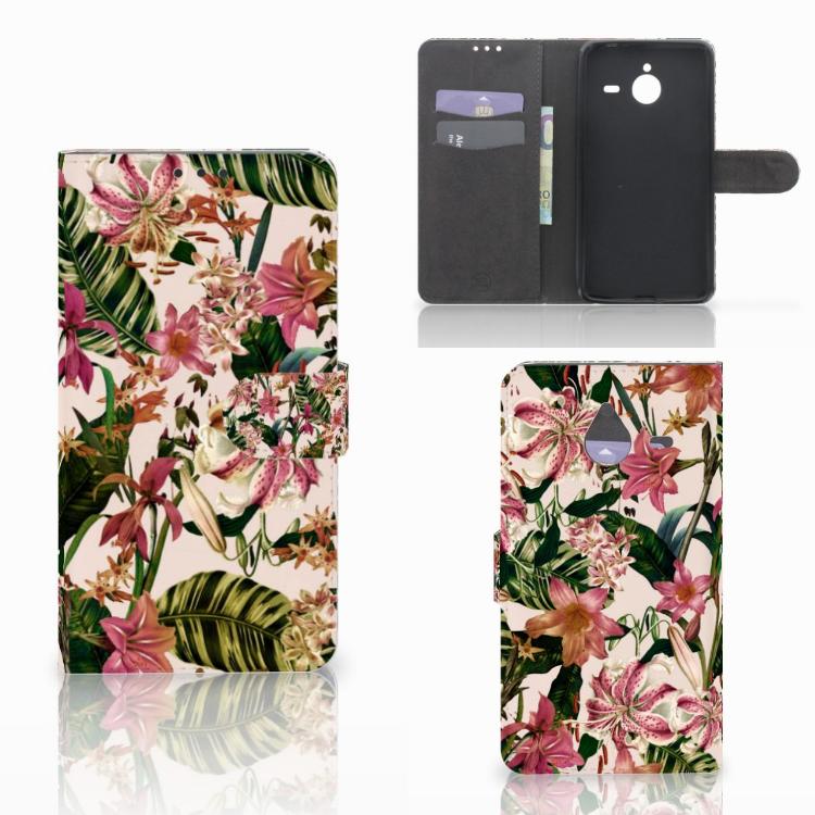 Microsoft Lumia 640 XL Hoesje Flowers