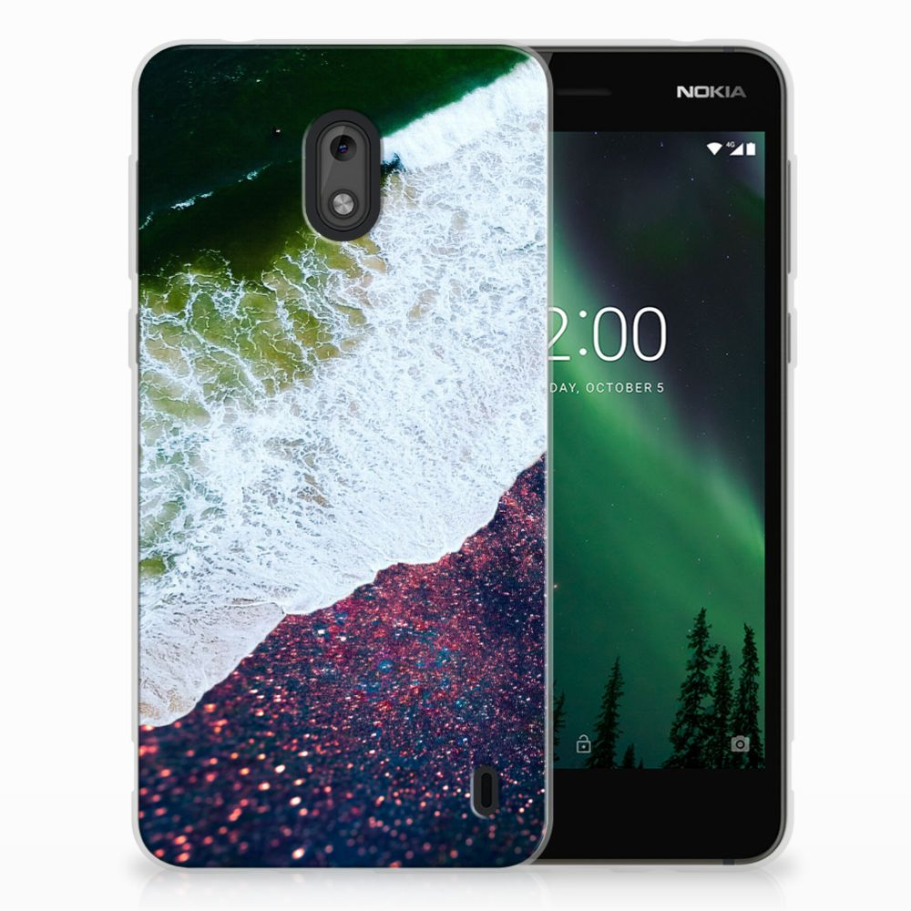 Nokia 2 TPU Hoesje Sea in Space
