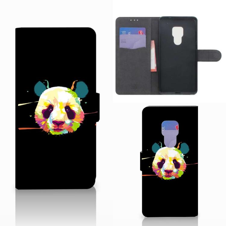 Huawei Mate 20 Leuk Hoesje Panda Color