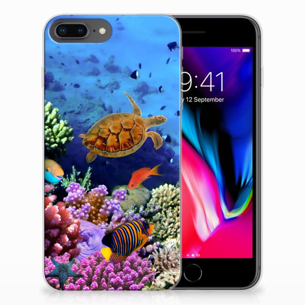 Apple iPhone 7 Plus | 8 Plus TPU Hoesje Vissen
