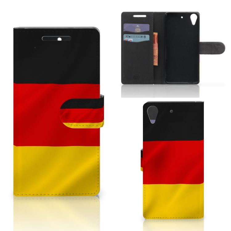 HTC Desire 628 Bookstyle Case Duitsland