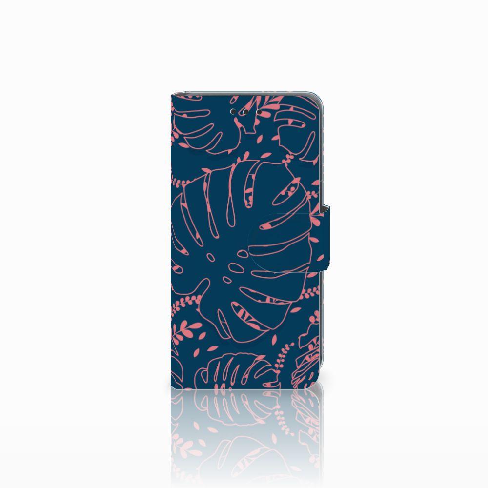 Nokia Lumia 630 Boekhoesje Design Palm Leaves