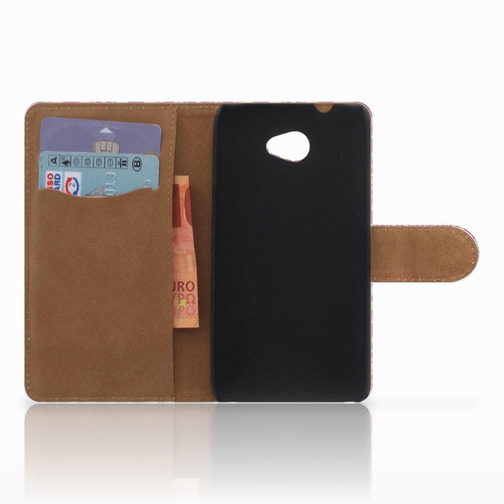Wallet Case HTC Desire 601 Barok Pink