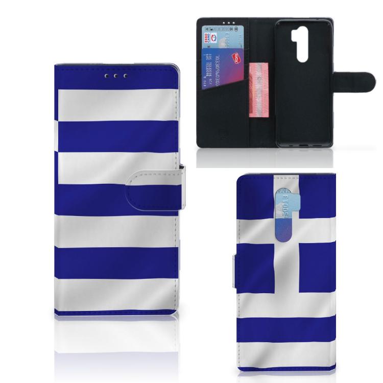 Xiaomi Note 8 Pro Bookstyle Case Griekenland