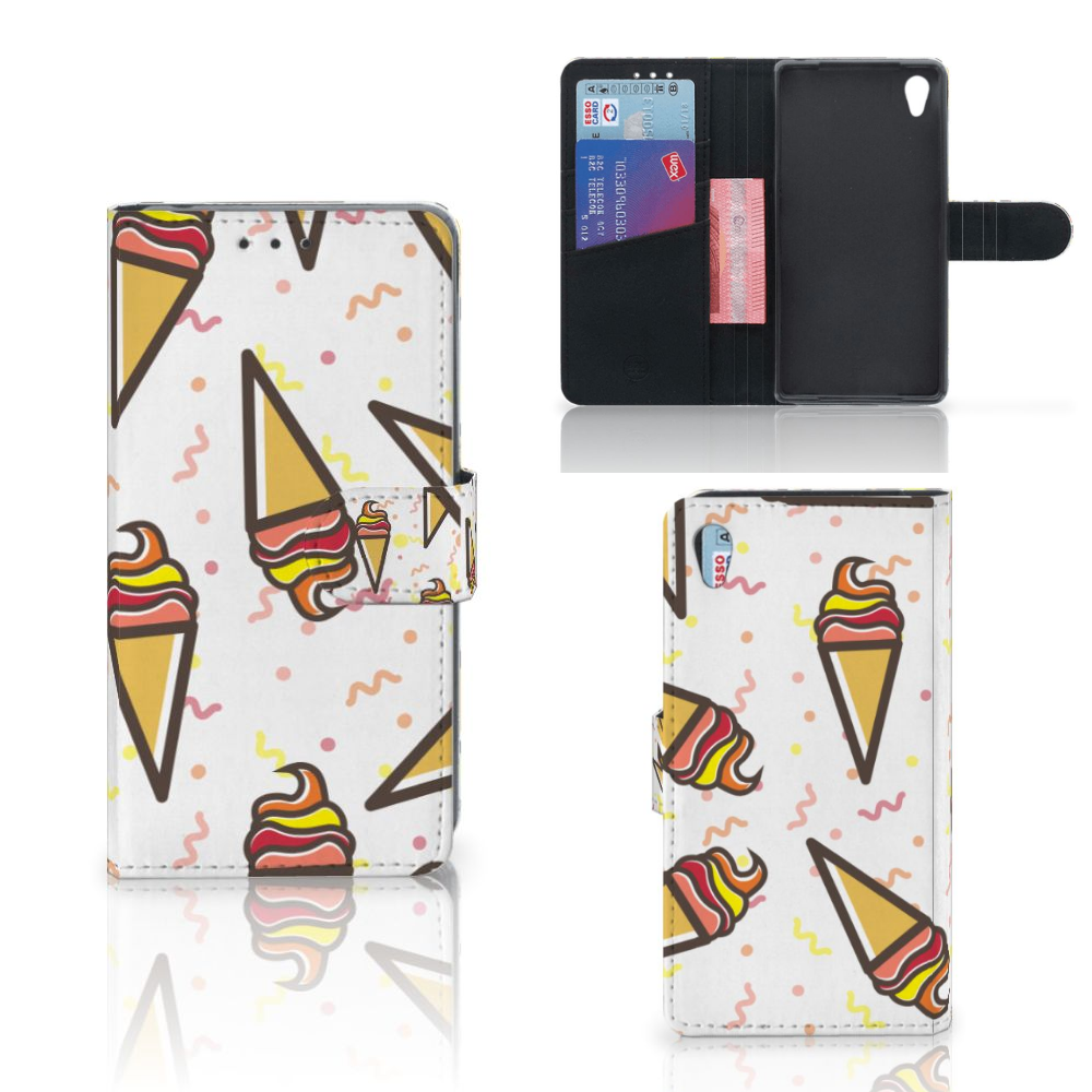 Sony Xperia Z2 Book Cover Icecream