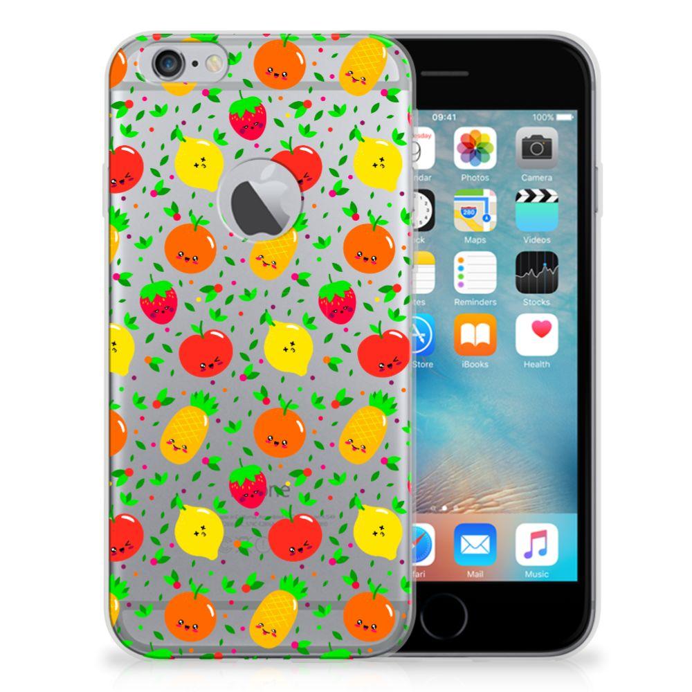 Apple iPhone 6 Plus   6s Plus Siliconen Case Fruits