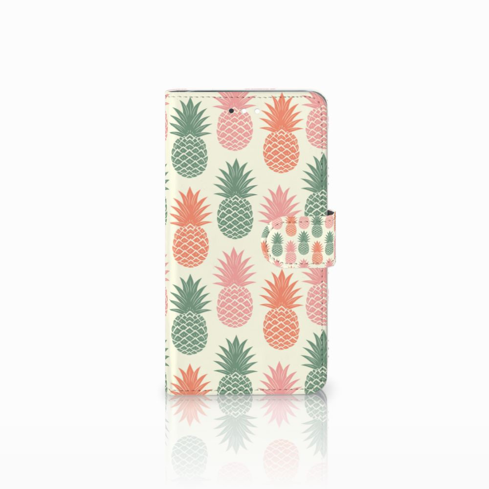 Huawei Ascend G7 Boekhoesje Design Ananas