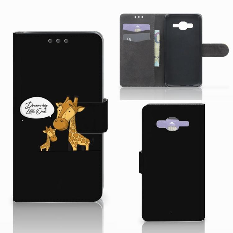 Samsung Galaxy J5 (2015) Leuk Hoesje Giraffe