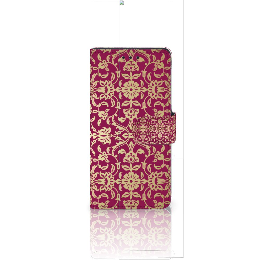 Wallet Case Huawei Ascend P8 Lite Barok Pink