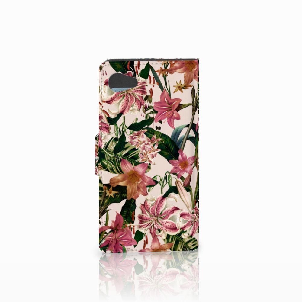 Sony Xperia Z5 Compact Hoesje Flowers