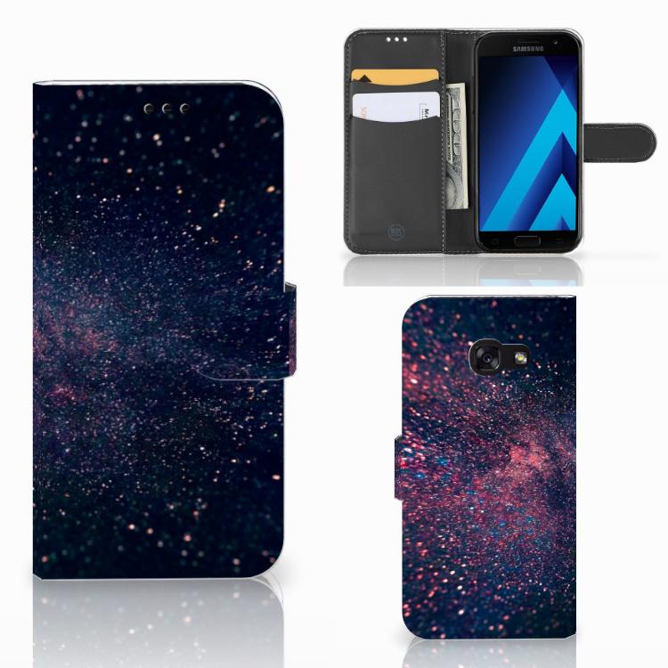 Samsung Galaxy A5 2017 Bookcase Stars