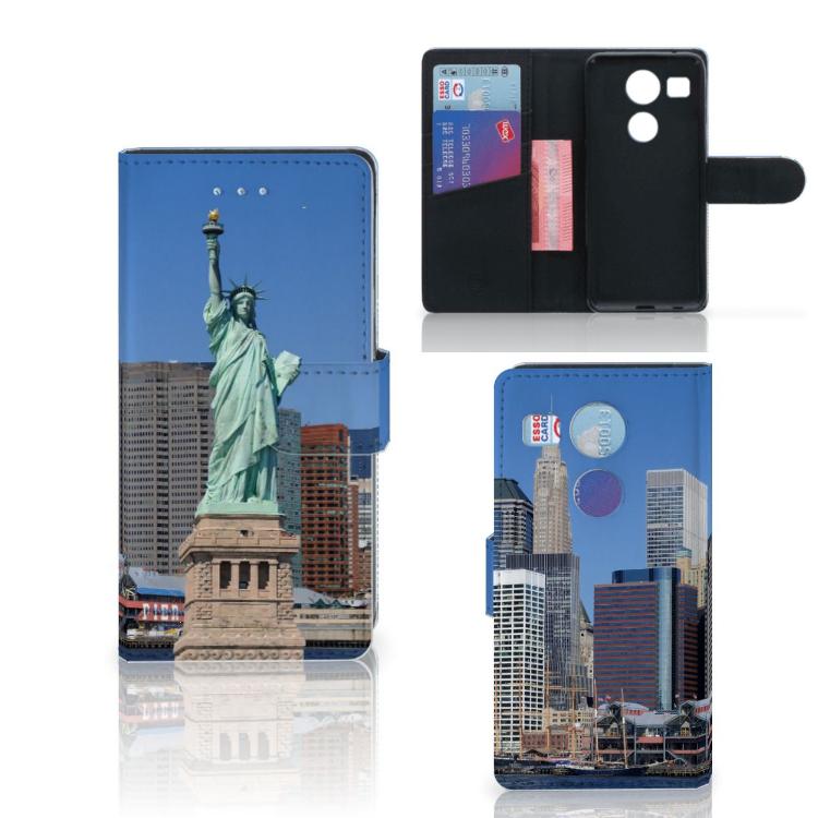 LG Nexus 5X Flip Cover Vrijheidsbeeld