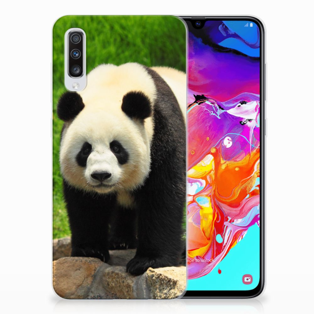 Samsung Galaxy A70 TPU Hoesje Panda