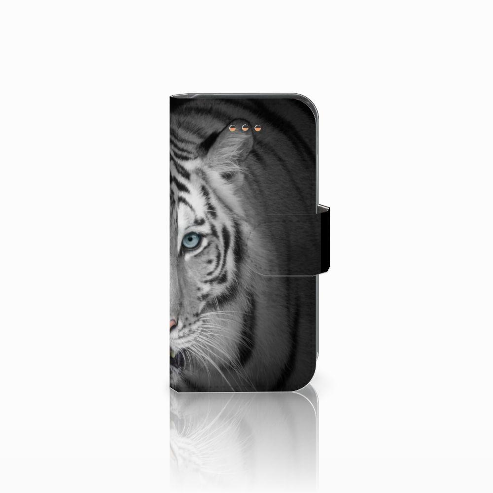 Apple iPhone 5C Uniek Boekhoesje Tijger